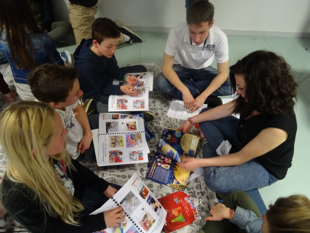 Animation atelier catalogues de jouets