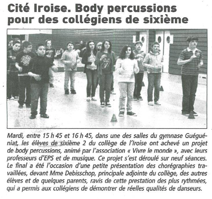 article body percussion